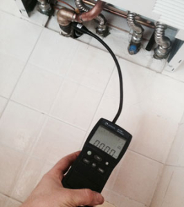 Naso elettronico per identificare fughe gas
